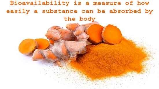 Boost the Bioavailability of curcumin